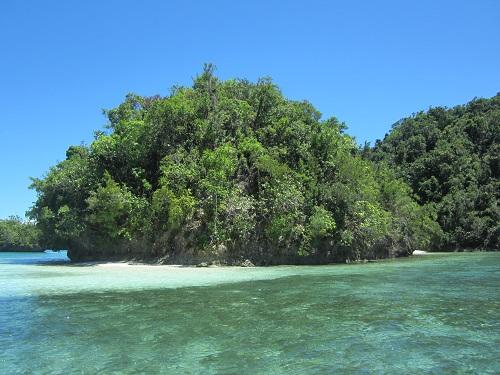 Der Fokus meiner Reiseaktivitäten liegt derzeit auf den Philippinen - hier zu sehen: Inselchen nahe Socorro, Bucas Grande, Mindanao. Foto: Reise-Typ.