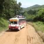 Reisen auf den Philippinen erfolgt mit dem Bus, Jeepney, Tricycle oder mit einer Riksha
