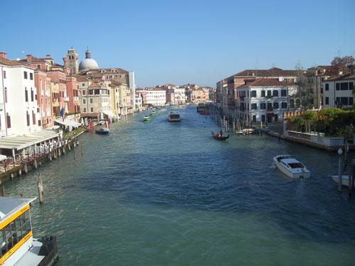 der große Kanal in Venedig