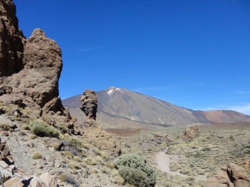 Der berühmte Vulkan auf Teneriffa: Teyde
