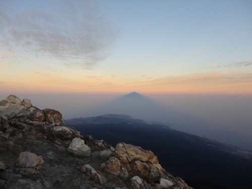 Sonnenaufgang am Pico del Teide