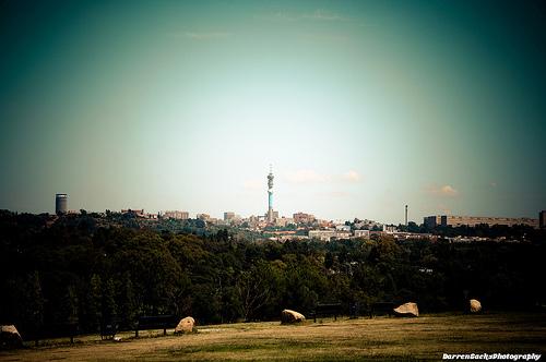 Die Stadt Johannesburg in Südafrika ist per Flugzeug gut von Deutschland aus zu erreichen