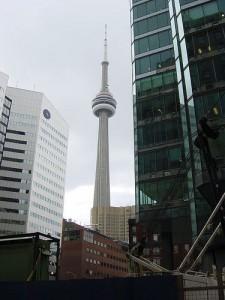Einer der höchsten Türme der Welt: der CN Tower in Toronto