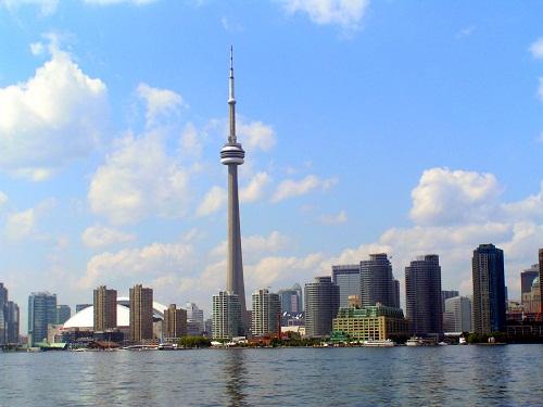 Der Ontariosee ist eine schöne Sehenswürdigkeit in Toronto, Kanada