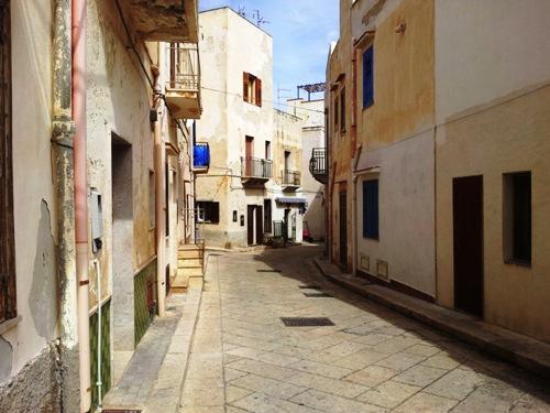 leere Straßen auf Marettimo
