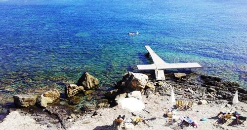 Am Strand von Marettimo entspannen