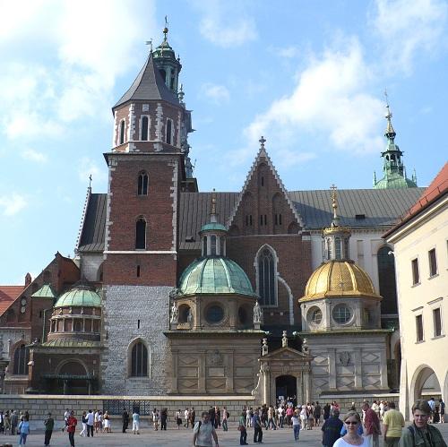 Wawel in Krakau, Polen