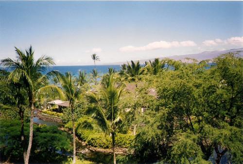 Im Ressort auf Big Island