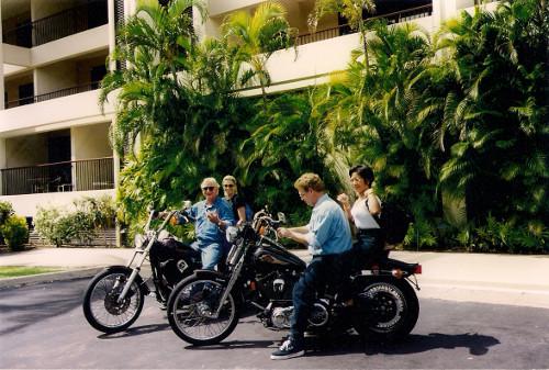 Mit der Harley Hawaii erobern