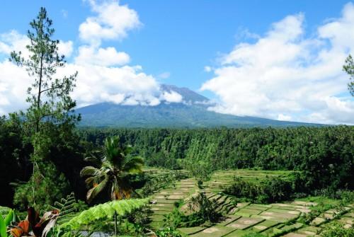 Gunung Agung im Norden Balis