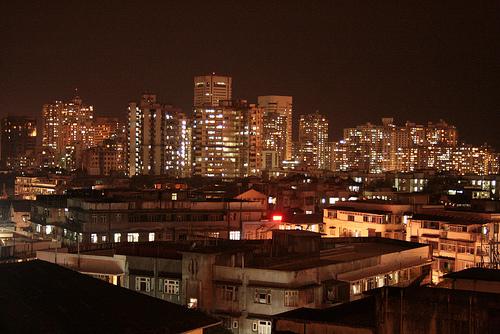 Bombay bei Nacht