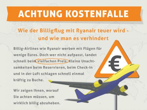 Zusatzkosten beim Billigflug