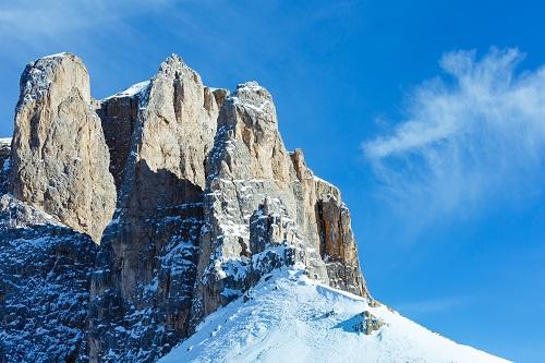 das winterliche Südtirol