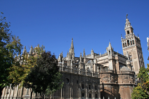 Orientalische Gebäude in Andalusien