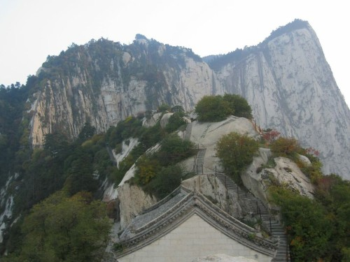 Hua Shan in China