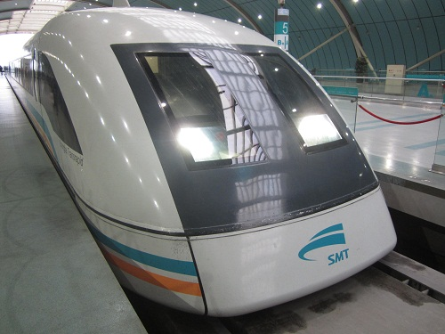Maglev in Pudong, Shanghai