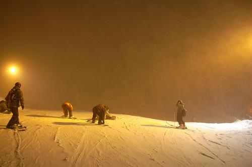 Nachtskifahren Obertauern