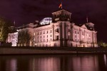 Berliner Reichstag von Paul Wallot - Reichstagskuppel von Norman Foster - Deutscher Bundestag