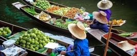 Damnoen Saduakin (Ratchaburi) - Floating Markets - Menam Chao Phraya