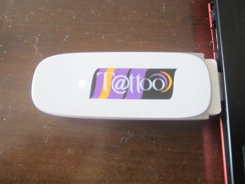 Ich persönlich surfe und telefoniere mit Globe. Hier zu sehen: der Globe Tattoo Stick für´s Prepaid Surfen und Telefonieren