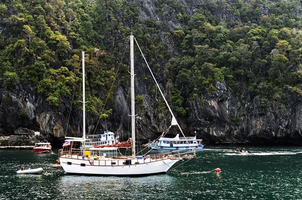 Koh Mook - Emerald Cave - thailändische Insel