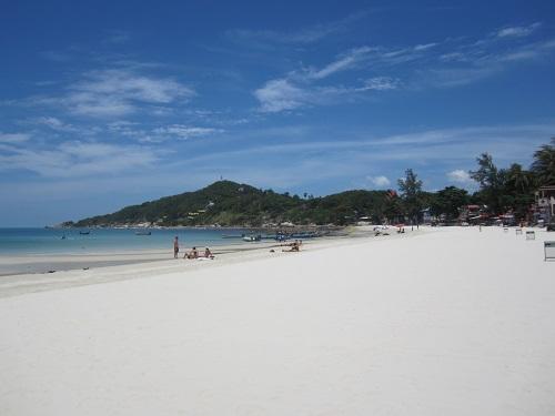 Auch Thailand steht auf meiner Welt-Rundreise wieder hoch im Kurs - hier zu sehen: Haad´Rin Beach auf Koh Phangan. Foto: Reise-Typ.de