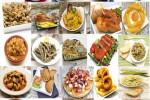 Mural de platos típicos españoles © dulsita - Fotolia.com