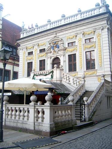 Alte Handelsbörse in Leipzig