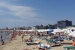 Sonnenstrand an der bulgarischen Schwarzmeerküste - Strandurlaub in Bulgarien - gepflegter Sandstrand