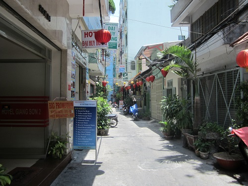 Gasse in Saigon