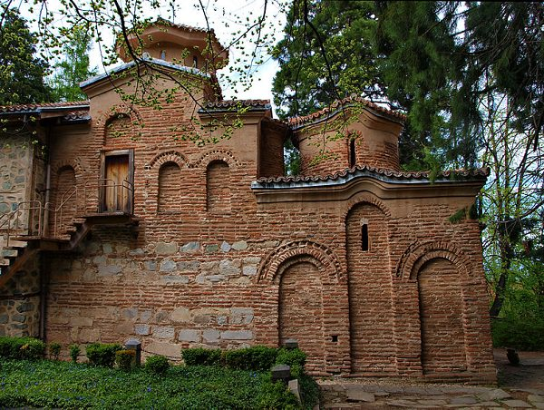 Kirche von Bojana in der Hauptstadt Sofia mit Fresken aus dem 13. Jahrhundert.