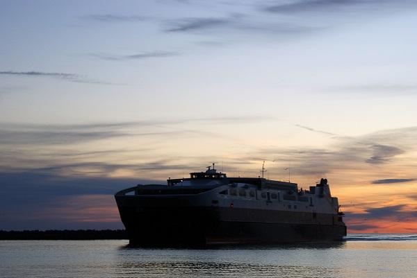 Ostseebelastung durch riesige Schiffe
