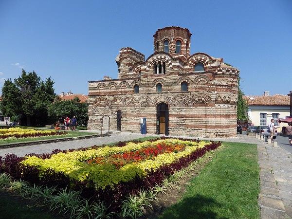 Altstadt Nessebar - orthodoxe Kirche in Bulgarien - Pankratorkirche aus dem 14. Jahrhundert