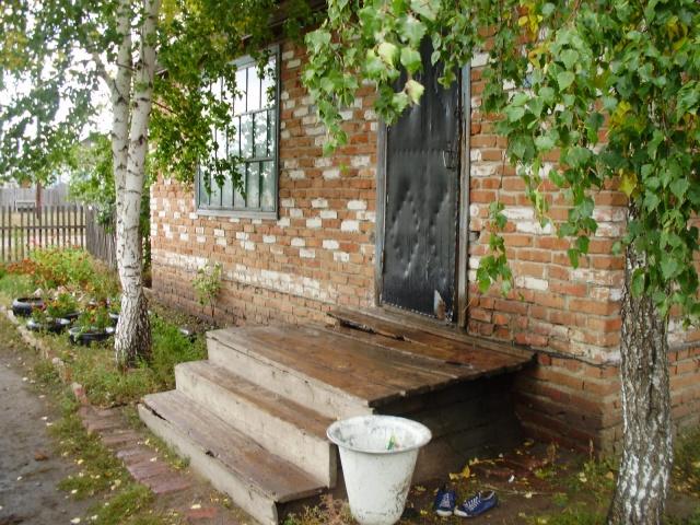 Ein Wohnhaus in Veselovka