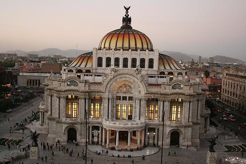 Palacia de Bellas Artes, Mexiko