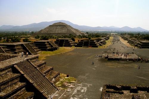 Téotihuacan Pyramiden
