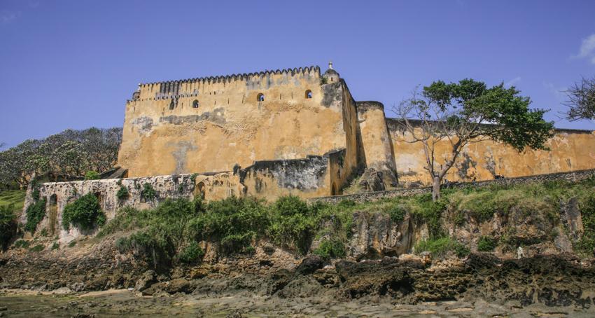 Fort Jesus wurde Ende des 16. Jahrhunderts von den Portugiesen gegründet und ist heute die meist besuchte Sehenswürdigkeit Mombasas. © Willi Dolder