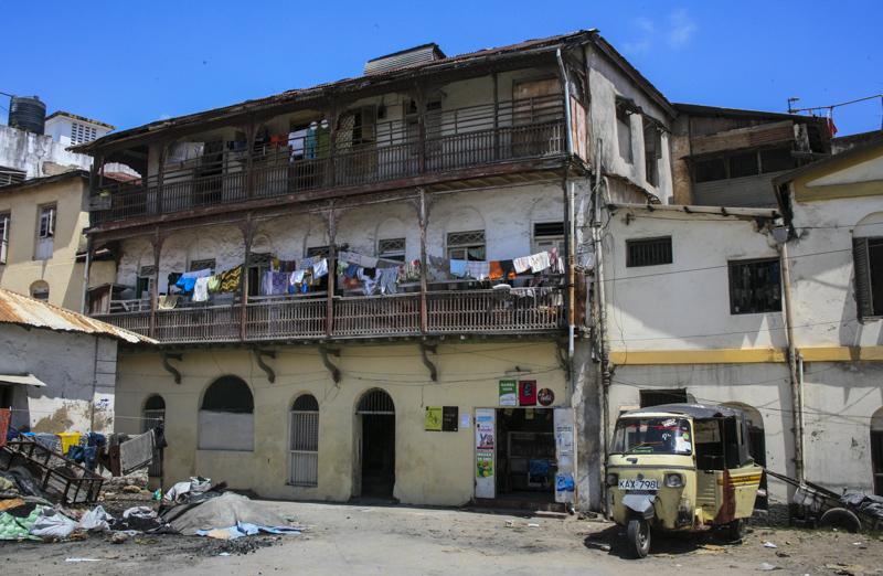 Haus in der Altstadt von Mombasa. © Willi Dolder