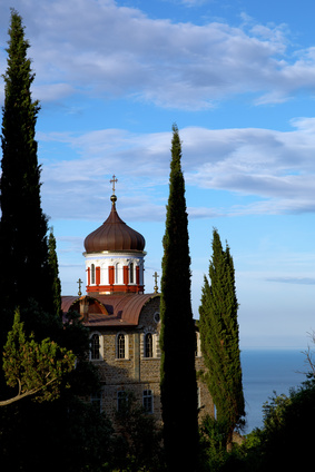 Christian shrine on Mount Athos   Foto:  © likstudio - Fotolia.com