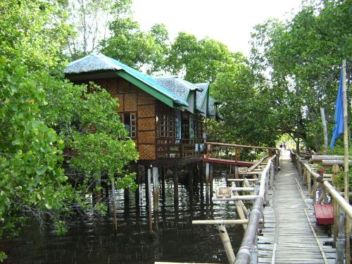 Romantische Cottages in den Mangroven Foto: reise-typ.de