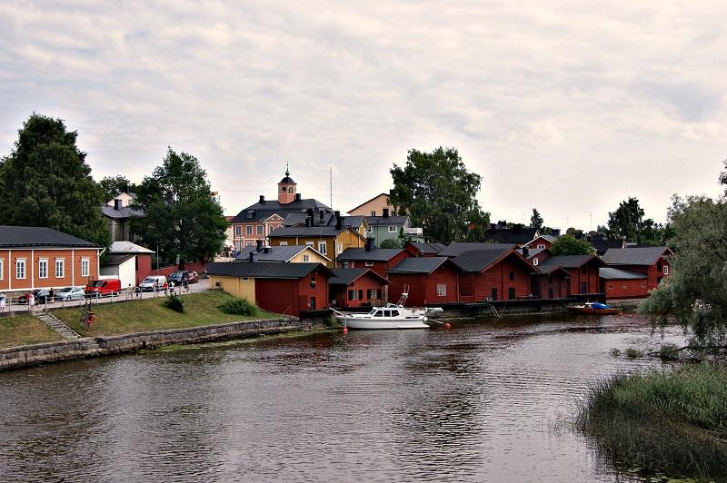 Porvoo - Stadt mit schwedischsprachiger Minderheit