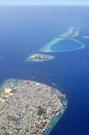 Malé - Hauptstadt der Malediven