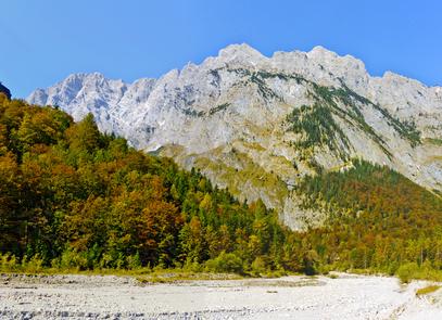 Das Watzmannmassiv am Königssee Foto: © blumenkind - Fotolia.com