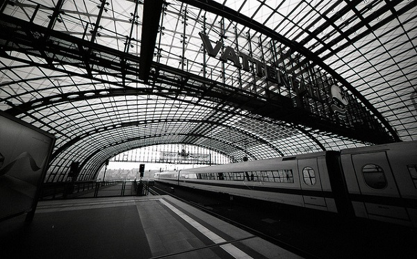 Zug nach Berlin