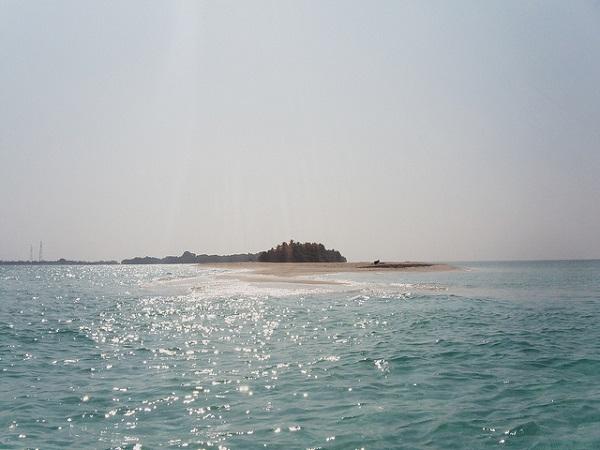Insel nahe Kuramathi Island