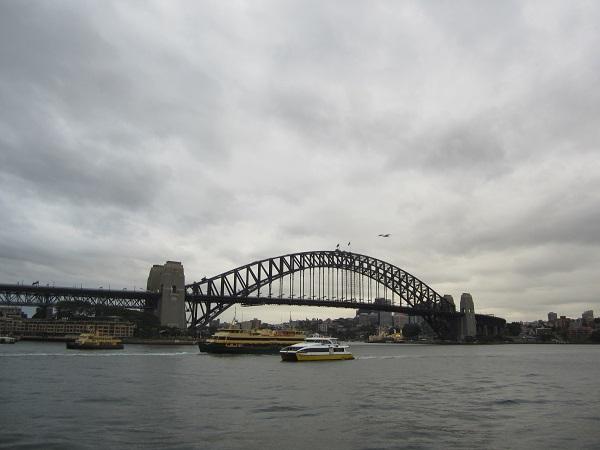 Die berühmte Brücke: Sydney Harbour Bridge