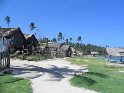 Im Fischerdorf auf den Philippinen