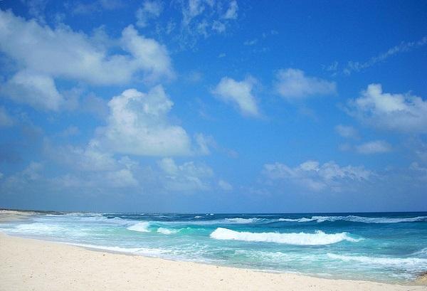 Strand in Cozumel, Mexico.