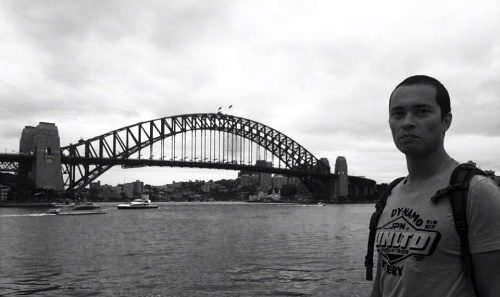 Beim Ausflug nach Sydney
