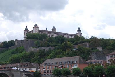 Biold 2: Die Festung Marienberg Wahrzeichen von Würzburg